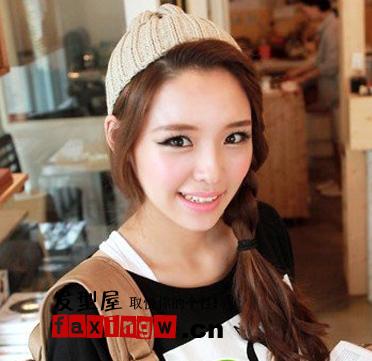 韩国女生烫发发型图片(4)图片