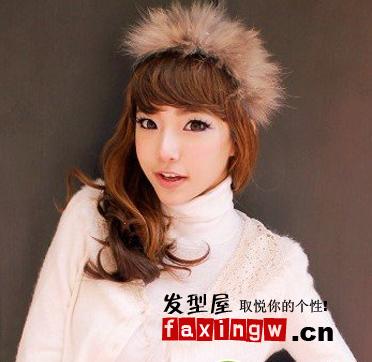 韩国女生烫发发型图片图片