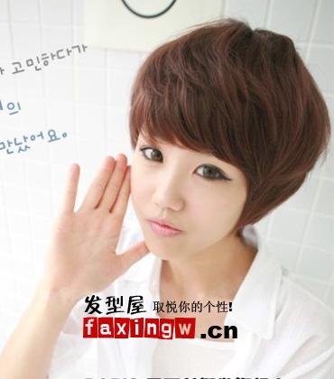 2015最新韩式短发发型(3)