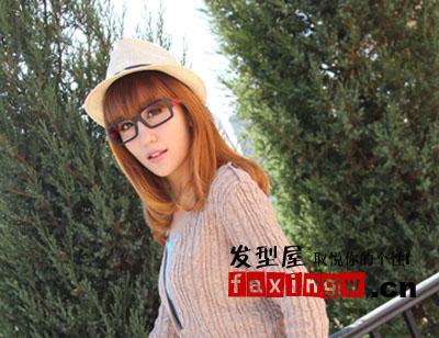 齐刘海女生适合什么发型 韩国街头疯狂抓镜(3)