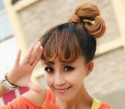 【图】非主流韩式发型扎法图片