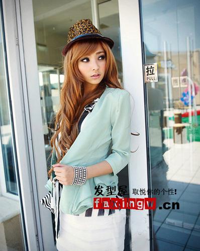 靓靓韩国美女发型更得女生钟爱图片