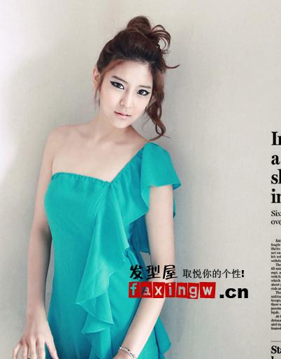 靓靓韩国美女发型更得女生钟爱(6)图片