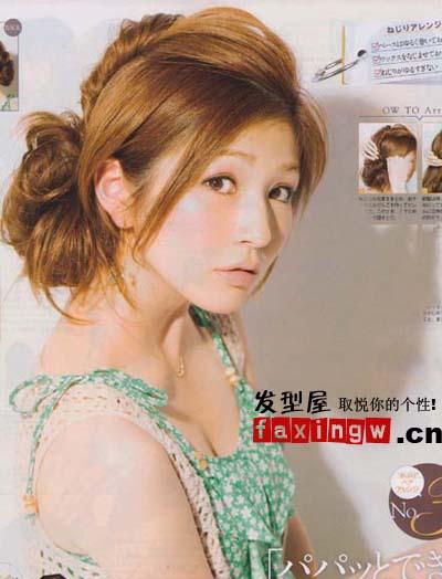 十款韩式扎发发型 夏季超实用(9)图片