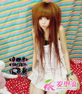 【图】非主流发型 冬季最卖萌(3)_女生非主流发型_发图片