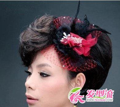 2015最新新娘发型 韩式新娘图片(4)