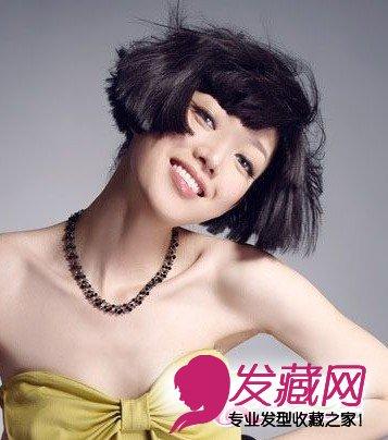 短发烫发 短发烫发发型图片 4