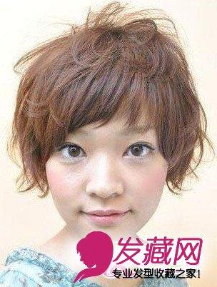 女生短发烫发发型 2013年流行烫发发型 3