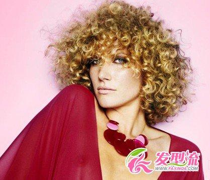 时尚卷发发型 浪漫法式发型(3)图片