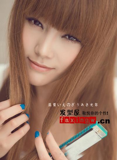 七夕约会百搭发型 直发最纯美最有异性缘(2)