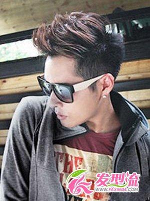 男生发型设计视频 艺术感男生短发(3)图片