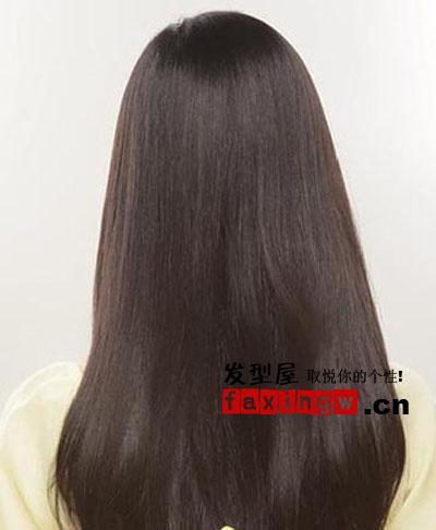 纯美长发直发时尚 街拍ol发型(3)