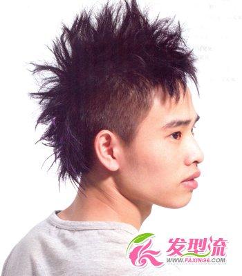发型网 男生发型 男士短发发型 > 90后男孩流行发型 彰显帅气个性图片