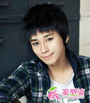 韩式男士烫发发型图片 新发型新形象(3)