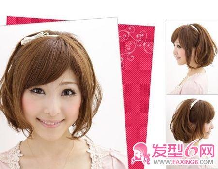发型图片2014女梨花烫 齐肩发型女梨花烫 发型图片女长发-流行发型图片