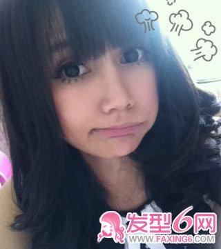 发型 苗苗/网络红人Hera苗苗在微博分享的私家照片,大大双眼很漂亮。