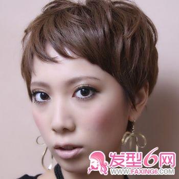 【图】日本流行图片微卷(6)_发型睡姿短发_发藏网新生儿哪种短发好头型图片