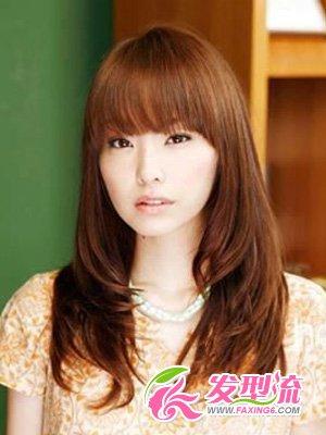 大长脸适合的发型图 卷发篇(4)图片