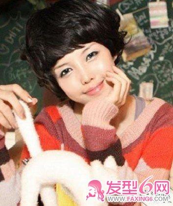 发型图片 刘海发型图片 > 可爱女生的刘海(4)  导读:非主流假发 是不