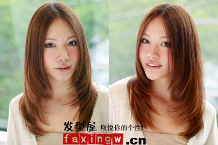 【图】2015年流行直发360度全面剖析(5)_女生直发发型图片