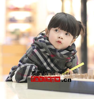 【图】小孩扎辫子发型设计 秋日精心大盘点_女生可爱
