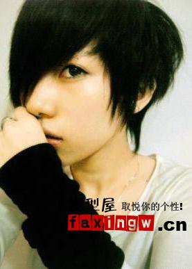 11款可爱男孩发型图片 做冬季卖萌男生(3)