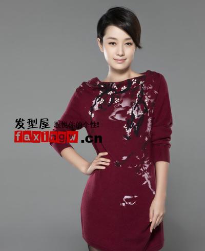 刘海 马伊琍/马伊琍斜刘海短发图片
