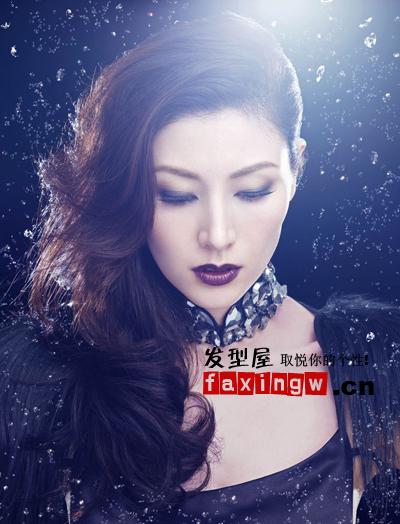 李嘉欣灵感女神图片 3d水晶范发型优雅神秘(5)图片