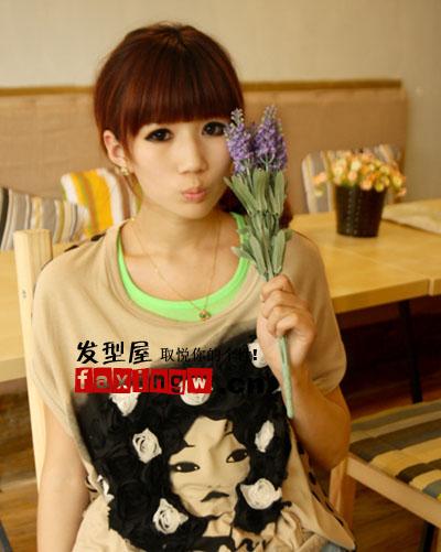 非主流女生可爱发型 变身萌味小甜心(3)