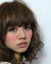 日系甜美发型巧修脸型 方脸不用再发愁