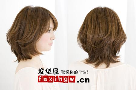 五款国字脸女生适合的发型 冬季不再苦恼脸型(5)图片