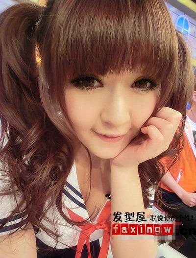 多款可爱娃娃脸发型 娃娃脸美女亲自演绎(3)
