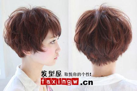 夏季发型设计与脸型合理搭配 好看小脸(3)