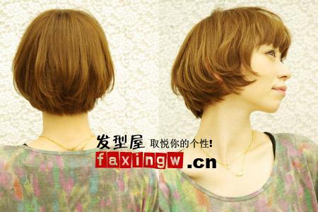 3张不规则脸型所适合发型设计(2)图片