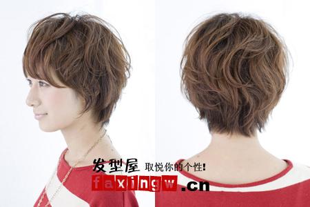 【图】五款鹅蛋脸短发发型图片