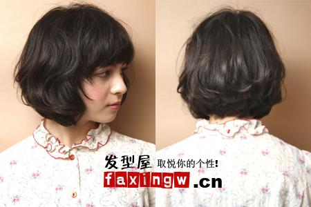 五款鹅蛋脸短发发型 发型脸型搭配就这样简单(5)图片