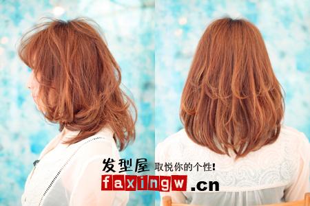 四款甲字脸女生适合的发型(4)图片