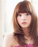 圆脸卷发发型图片 让你瞬间瘦脸