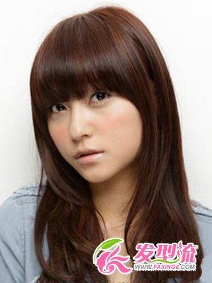 6款大圆脸发型设计 时髦不含糊(4)