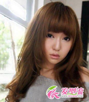 圆脸女生适合的发型图片 瞬间瘦脸