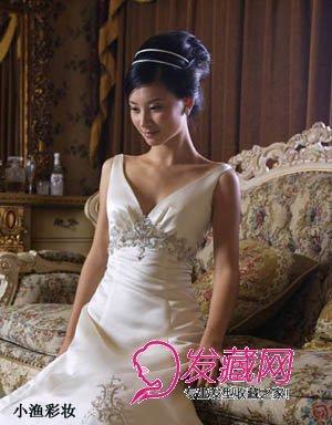 高雅端庄的新娘发型