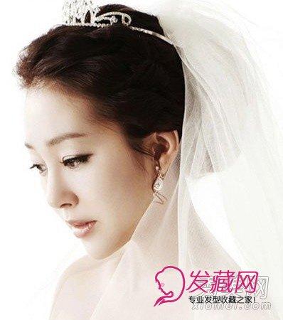 【图】9款韩式新娘发型