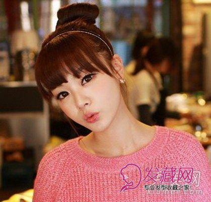 【图】丸子梨花麦穗烫 新年甜美发型惹人爱(4)_女生非