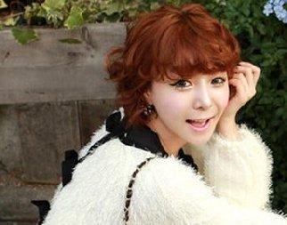 韩流来袭 2012最新短发烫发发型