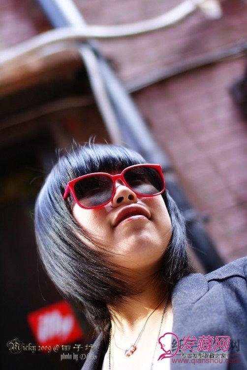胖脸脸型适合的短发发型图片图片