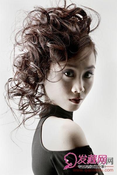 发型网 女生发型 女生卷发发型 > 菲灵卷发造型大赛优胜奖作品选(2)图片