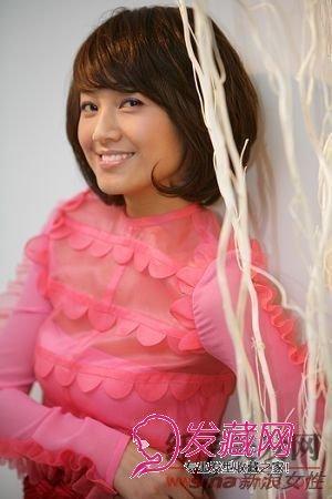 80后短发造型美女主持朱丹(3)