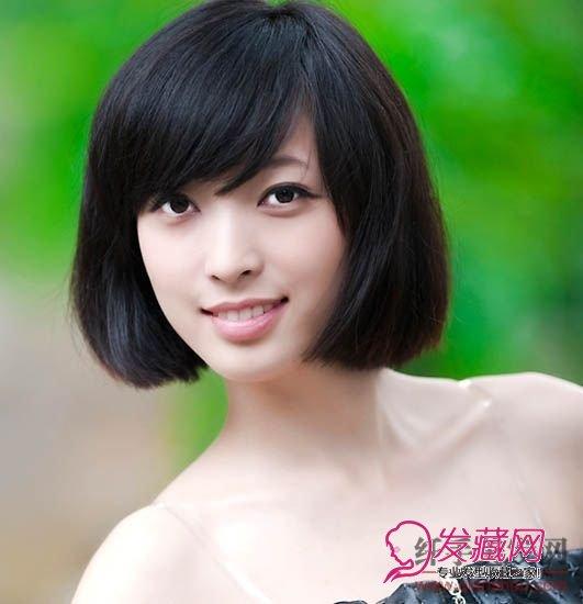 【图】经典女生短发发型图片(2)