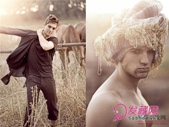 最受女性青睐的野性男士发型图片
