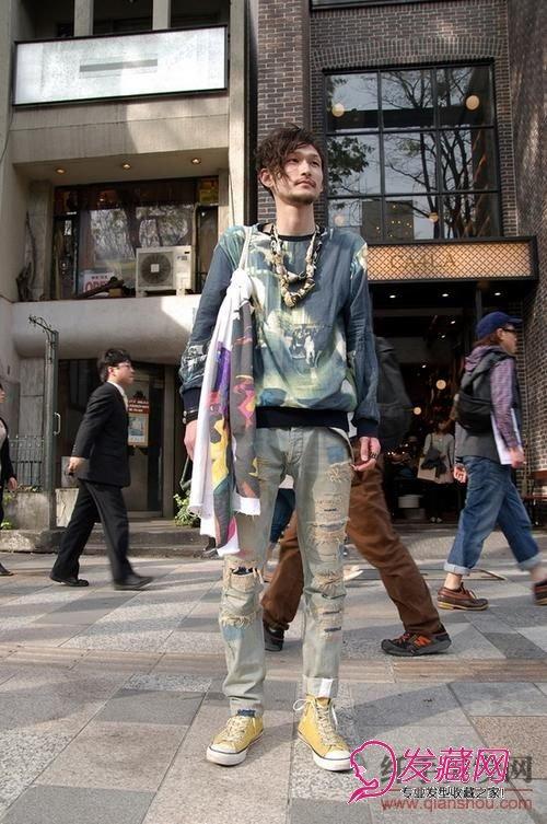 <strong>东京街头型男及其个性的男士发型</strong>